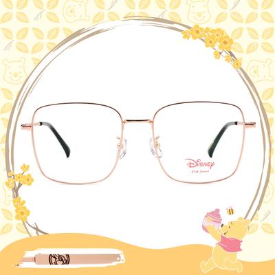 Disney-粉萌季 l 桑普的異想世界 大方框眼鏡 霧金色