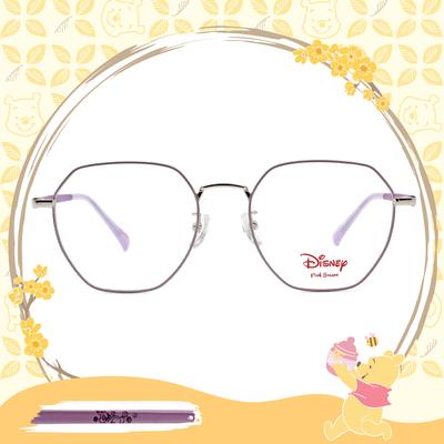 Disney-粉萌季 l 心花怒放邦妮兔 多邊框眼鏡 粉嫩紫