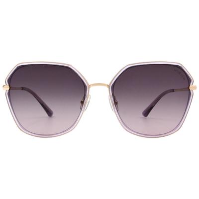 HORIEN 銳利個性款墨鏡 低奢紫