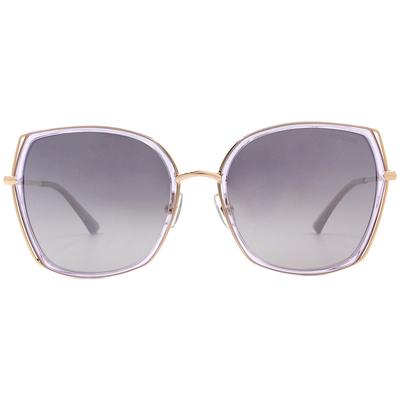 HORIEN 質感雙層線條款墨鏡 浪漫紫