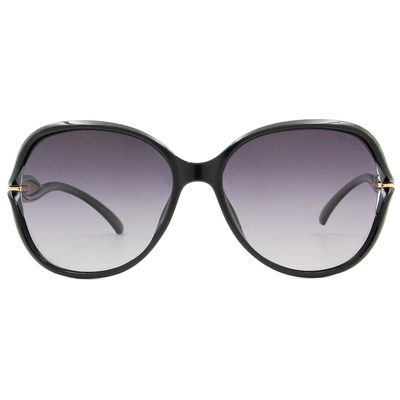 HORIEN 流線造型大方框墨鏡 潮流黑