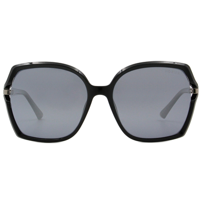 HORIEN 經典氣質大方框墨鏡 透藍灰