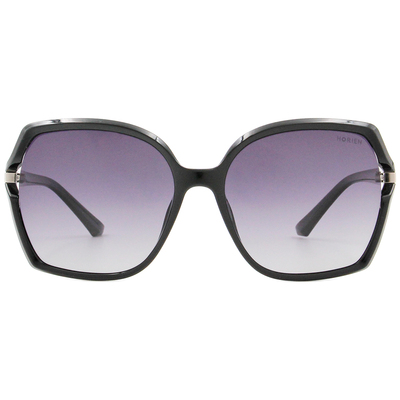 HORIEN 經典氣質大方框墨鏡 時尚黑