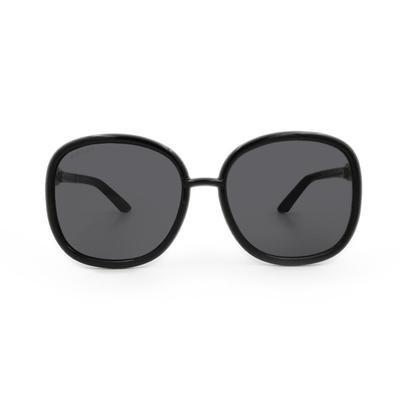 GUCCI│經典鍊結設計墨鏡│格調黑