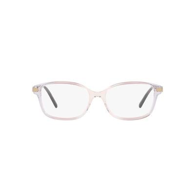 COACH│典雅流線 長方框眼鏡│蝴蝶結粉