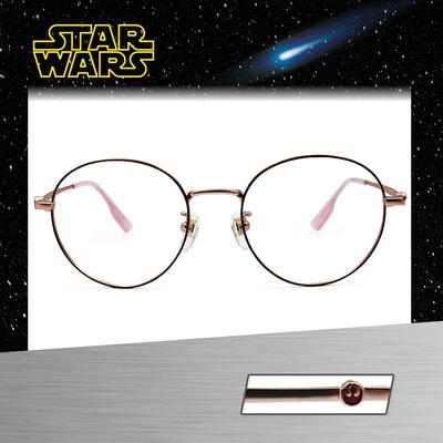 Star Wars:反抗同盟徽章 圓框眼鏡︱紅金