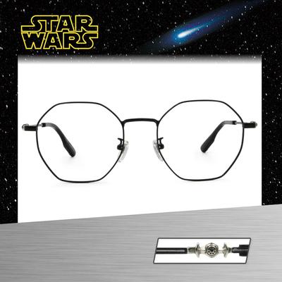 Star Wars:TIE FIGHTER 鈦戰機 多邊框眼鏡︱亮黑