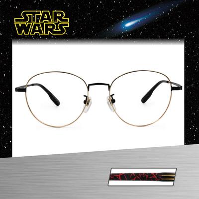 Star Wars:Kylo Ren凱羅·忍 波士頓框眼鏡︱黑金