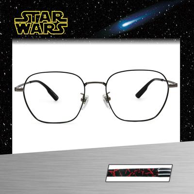 Star Wars:Kylo Ren凱羅·忍 威靈頓框眼鏡︱銀綠