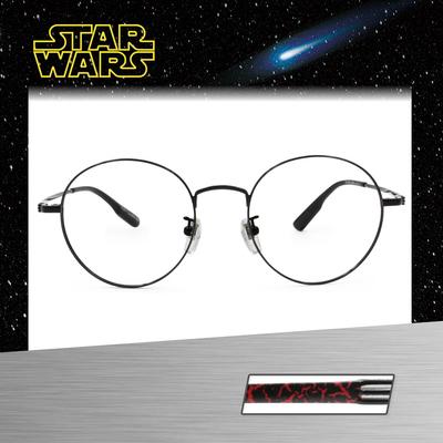 Star Wars:Kylo Ren凱羅·忍 圓框眼鏡︱亮黑