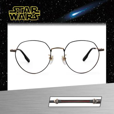 Star Wars:黑暗勢力 黑武士 多邊框眼鏡︱黑金