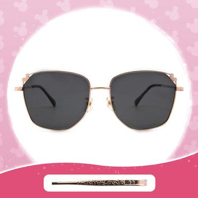 Disney 米奇│土耳其熱氣球 多邊框墨鏡 流金黑(大框款)