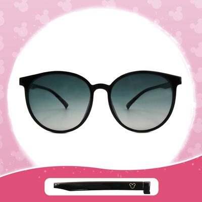 Disney 米奇│藝術國度 圓框眼鏡 墨森黑