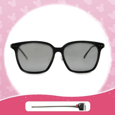 Disney 米奇│奇幻古堡 方框眼鏡 鋼質黑