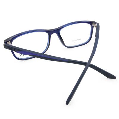 PUMA l 極速動感 長方框眼鏡 l 音速藍