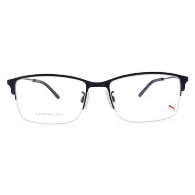PUMA l 剛性質感 長方半框眼鏡 l 宇宙藍