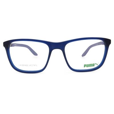 PUMA l 時尚主義 方框眼鏡 l 道奇藍