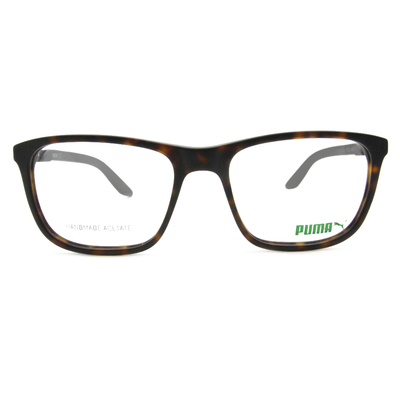 PUMA l 時尚主義 方框眼鏡 l 玳瑁棕