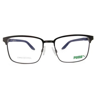 PUMA l 熱情學院 方框眼鏡 l 鋼質灰