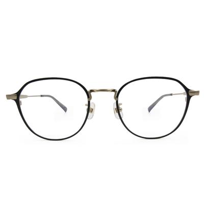 Selecta|書香世家多邊框眼鏡|深木藍
