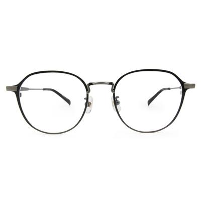 Selecta|書香世家多邊框眼鏡|深灰黑