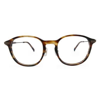 Selecta|時尚粗版威靈頓框眼鏡|玳瑁棕