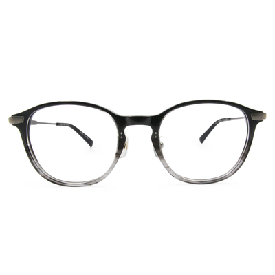 Selecta|時尚粗版威靈頓框眼鏡|石墨灰