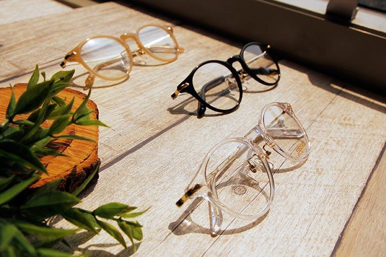 SEIKO 知性の鈦 菱鑽波士頓復古框眼鏡 ▏透白金