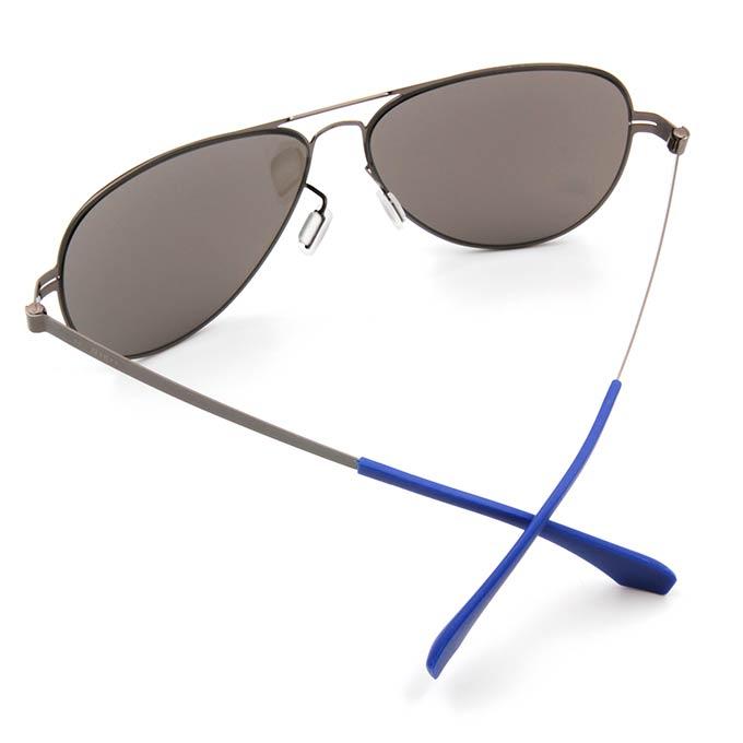 HORIEN 水銀飛行官款墨鏡輕薄款墨鏡│槍藍