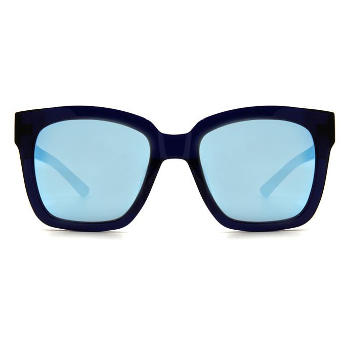 Helen Keller 時尚新風貌沉穩粗框墨鏡 款墨鏡 晶澤藍