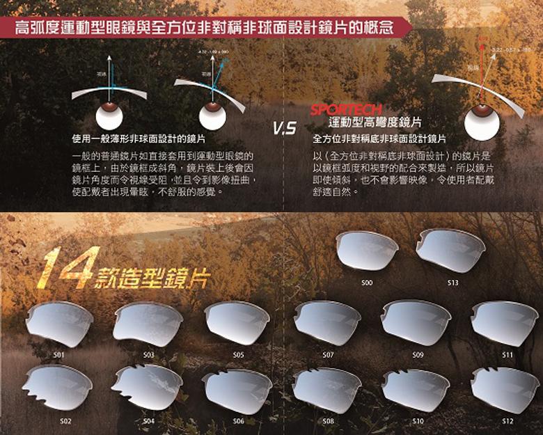 Nurbs 運動太陽眼鏡「時尚護眼框型」➣迎向陽光/旭日黃