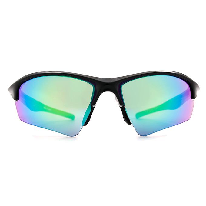 Nurbs 運動太陽眼鏡「時尚護眼框墨鏡 型」➣盛夏迷情/叢林黑