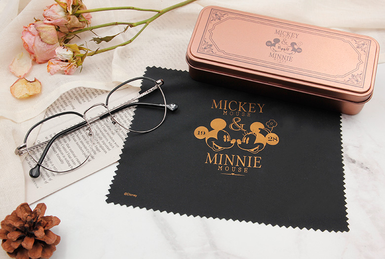 Disney Love米系列眼鏡盒♥典藏愛戀-復刻藏金