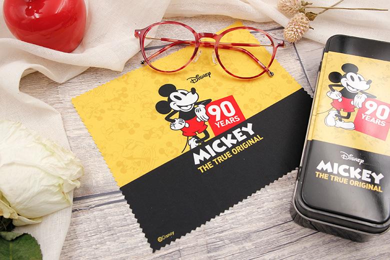 Disney Love米系列眼鏡盒♥歡慶經典-復古黑黃