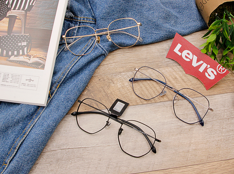 LEVI'S Special Exclusive-多邊框 沉穩睿智黑