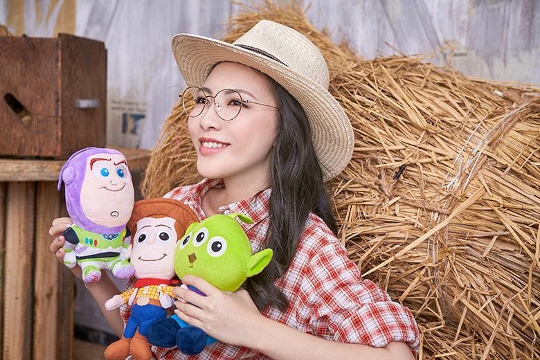 Toy Story × 胡迪眉框眼鏡 勇闖世界 ◆ 雅典金