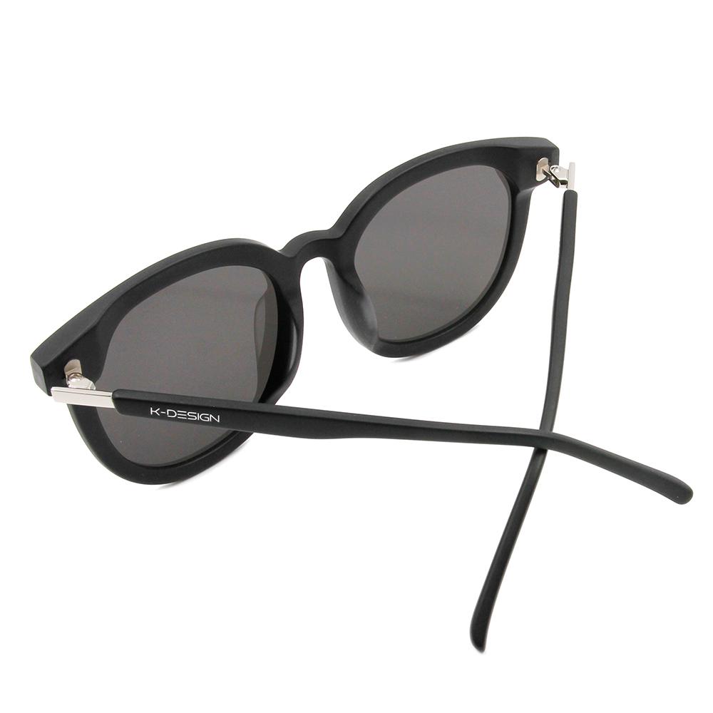 K-DESIGN 20▼巨星氣勢大框面款墨鏡 鏡面灰