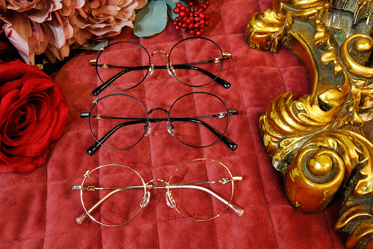 Disney🌟Fantasia l 魔法小手 圓框眼鏡 玫瑰金