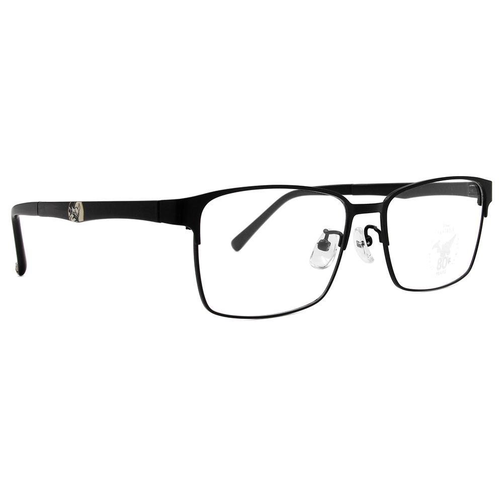 Disney🌟Fantasia l chernabog world 長方眉框眼鏡 質感黑