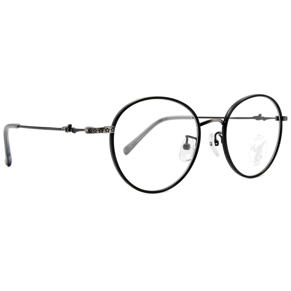 Disney🌟Fantasia l 魔法帽 波士頓框眼鏡 沉著灰