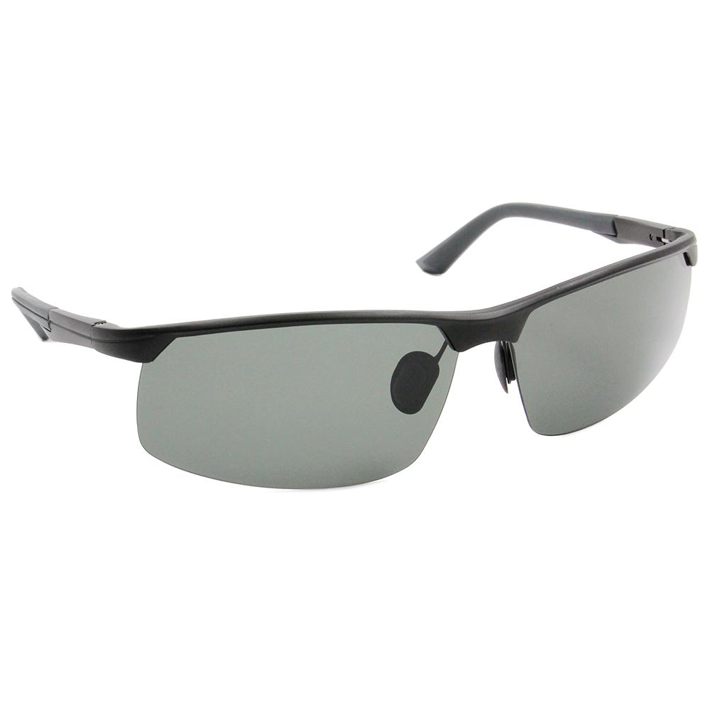 HORIEN 造型眉框墨鏡 深灰綠