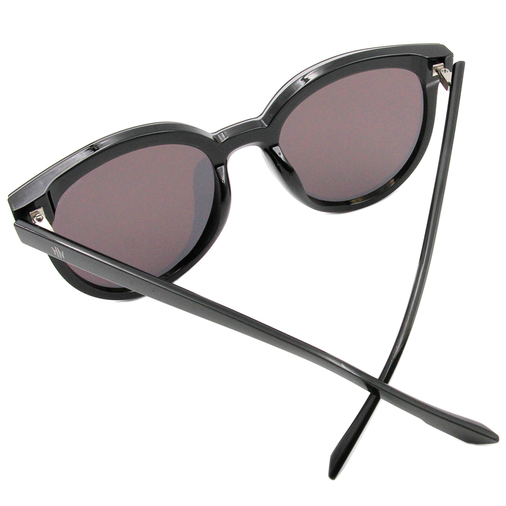HORIEN 前衛波士頓框墨鏡 時尚黑