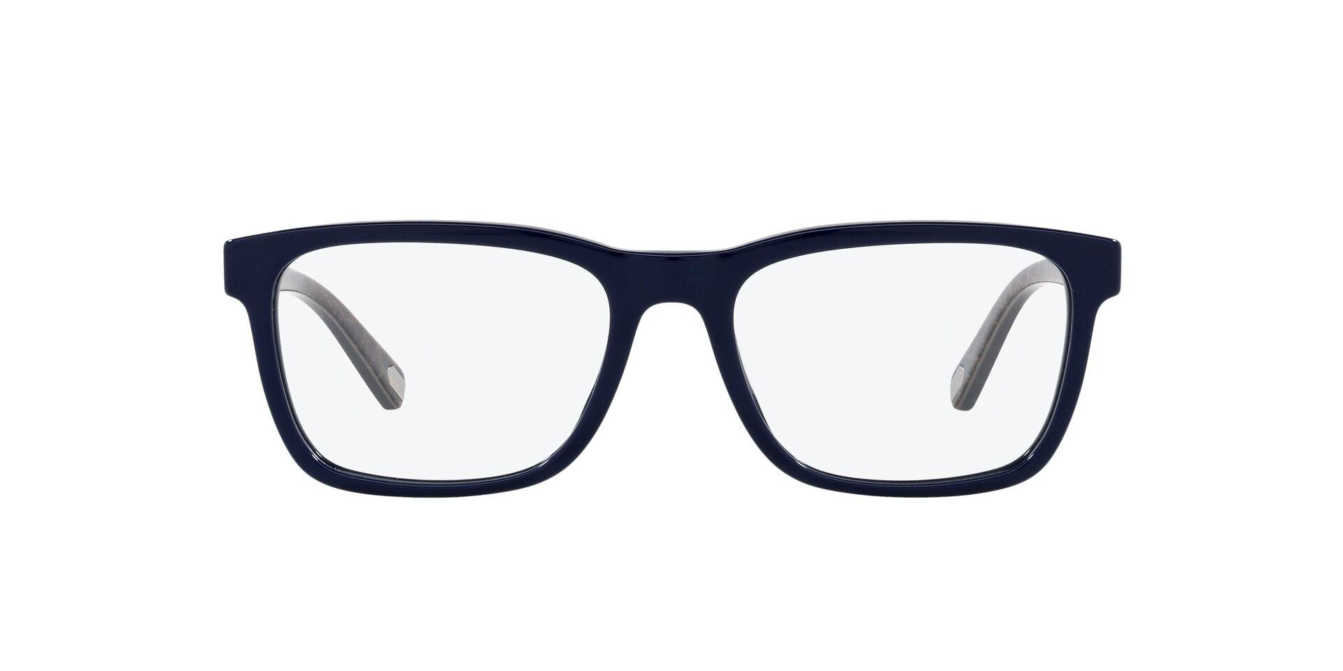 COACH│活力色彩 長方框眼鏡│鼠尾草藍