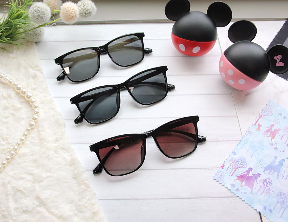 Disney 小熊維尼│森林木屋 方框眼鏡 曜石黑