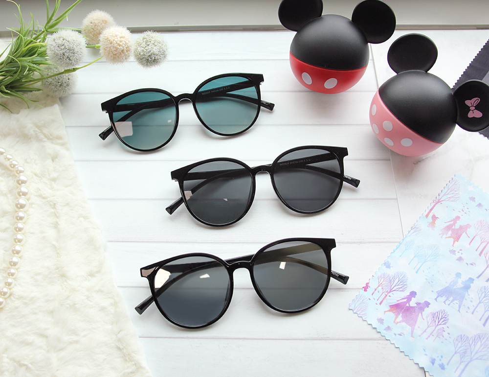Disney 米奇│藝術國度 圓框眼鏡 水銀黑