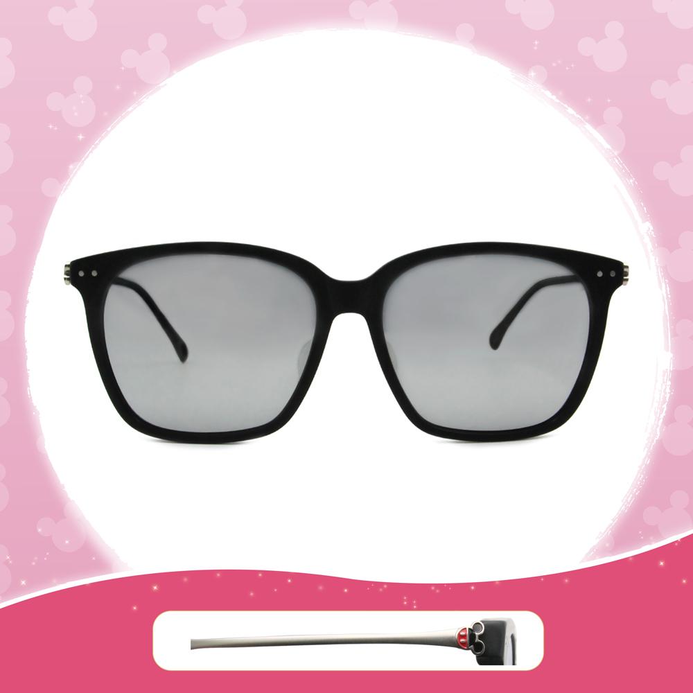 Disney 米奇│童話城堡 方框眼鏡 銀面黑