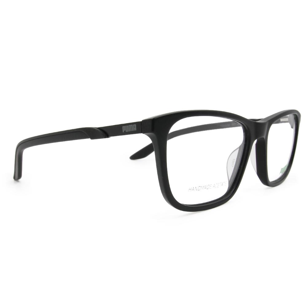 PUMA l 時尚主義 方框眼鏡 l 低調黑