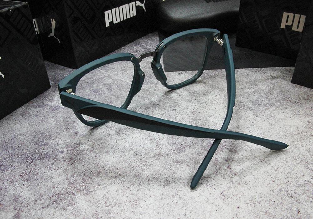 PUMA l 沉穩氣息 威靈頓框眼鏡 l 薄霧綠