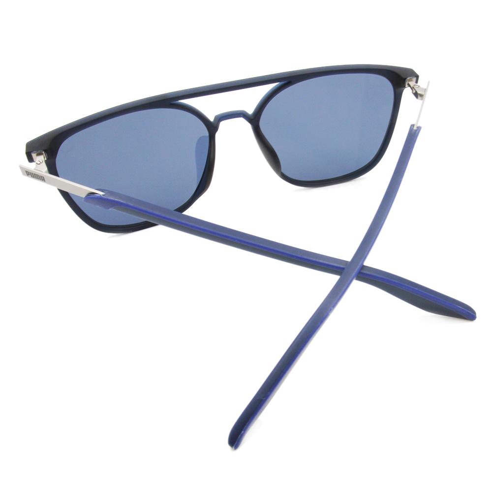 PUMA l 個性態度 雙樑墨鏡 l 深藍
